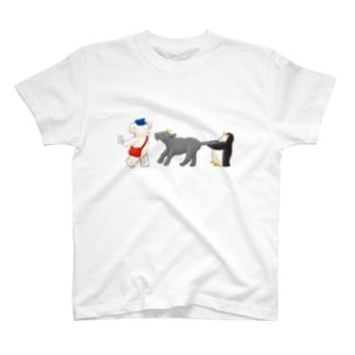 マールとショーイ 郵便屋さん T-shirts