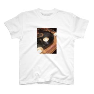 古い居酒屋のレコード T-shirts
