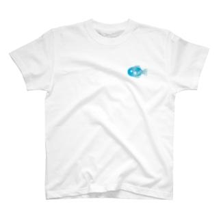 おさかな_いっぴき T-shirts