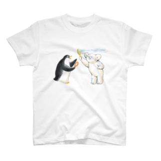マールとショーイ シャボン玉 T-shirts