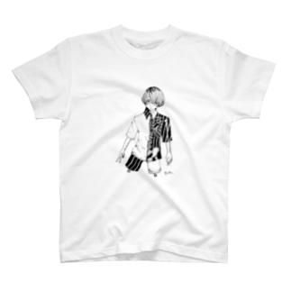 白鹿006 T-shirts