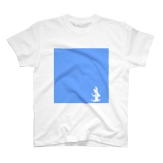 トリケラトプス シルエット 小 T-shirts