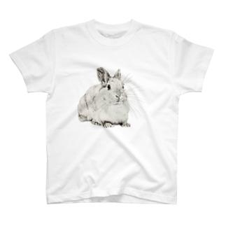 おすまし(マフラー) T-shirts