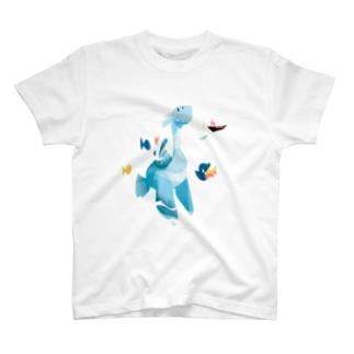 Blueと老人 T-shirts