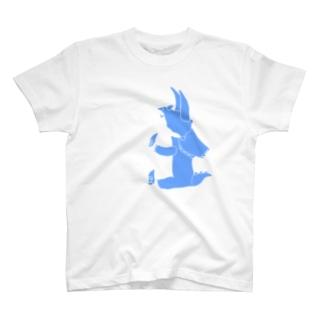 ぺぇねもんショップのちょこんとトリケラトプスくん T-shirts