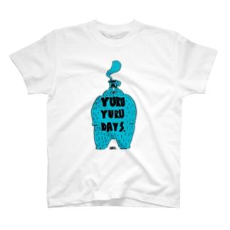 ブルーブルー T-shirts