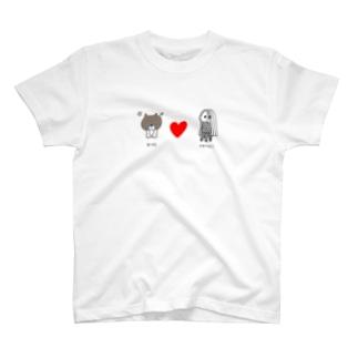 ニコちゃん&アマビエさま T-shirts