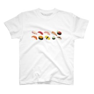 アイラブ寿司Tシャツ T-shirts