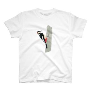 アカゲラ T-shirts