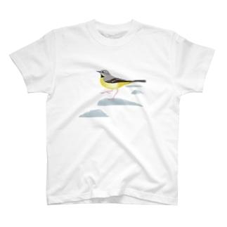 キセキレイ T-shirts