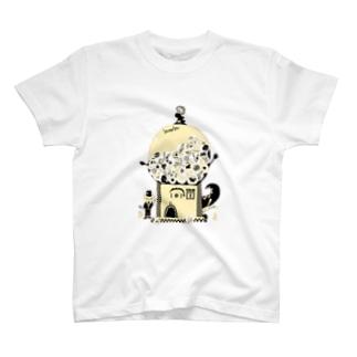 カプセルトイズ・モンスター T-shirts