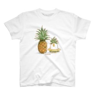 Let'sパイナポー T-shirts