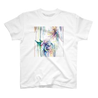 咲いちゃったよーん T-shirts