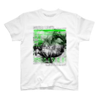 303 Pettern Chart Tee (Green&Black) T-shirts