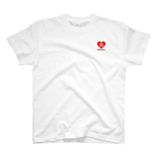 Charisma neet ハートQRコード T-shirts