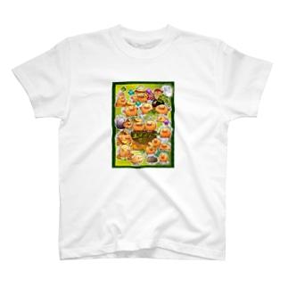 The world of Tsuchi-bockri Tシャツ