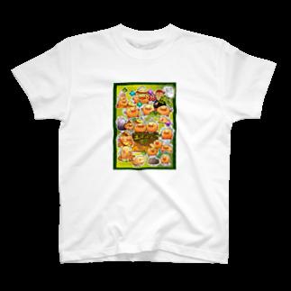 スタジオ土ぼっくりのThe world of Tsuchi-bockri T-shirts