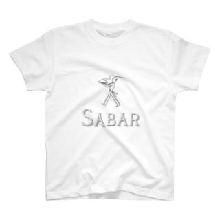 【SABAR LOGO】 collection T-shirts