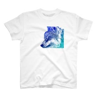 オオカミだよ T-shirts