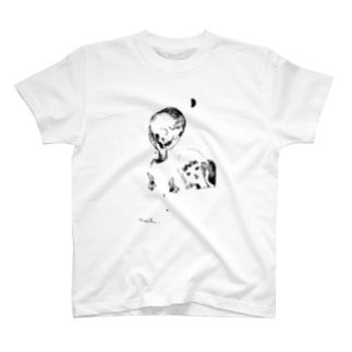 傾けたらこぼれた T-shirts