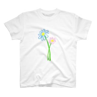 デイジーくれよん風 T-shirts