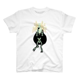 モルモットのレントゲン写真 T-shirts