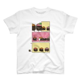 回転ずしくんTシャツ(軍艦兄弟) T-shirts