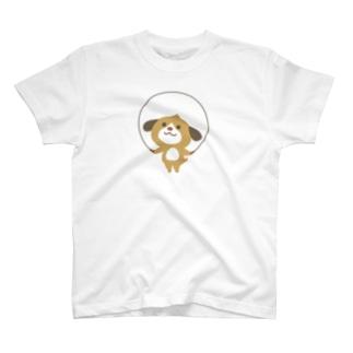 ほんわか通りのわんこさん(なわとびわんこ) T-shirts