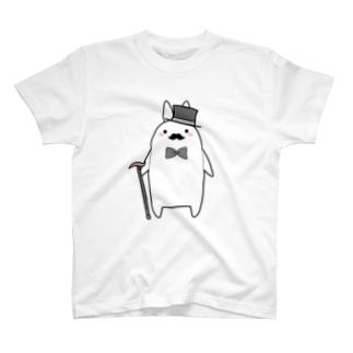 紳士うさぎ T-shirts