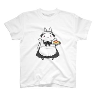 メイドうさぎ T-shirts