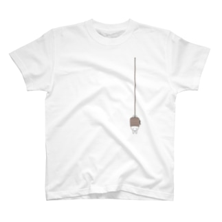 さかさ吊りうさぎ T-shirts