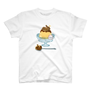 ぷりんすぷりん(プレートなし) T-shirts