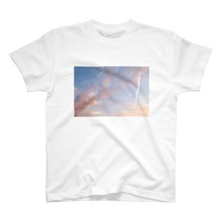 夕焼けの想い出その5 T-shirts
