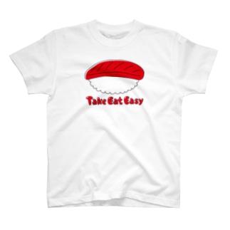 ガモさんのTake Eat Easy  T-shirts
