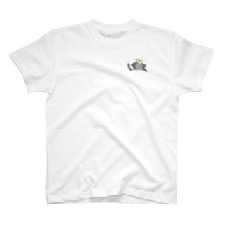 オカメインコ定点観測のノーマルミニ オカメインコ T-shirts