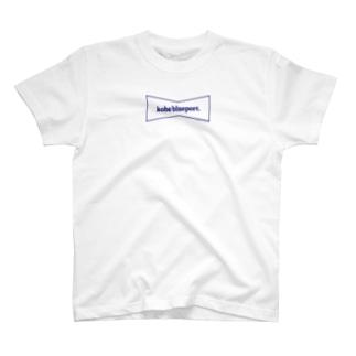 KOBE BLUEPORT. scramble T-shirts