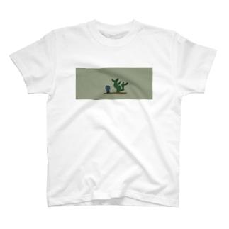 サボテンになりたいウクレレ T-shirts