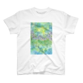 紫陽花いろに染まるころ  T-shirts