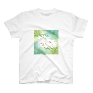 緋色ふよふよ T-shirts