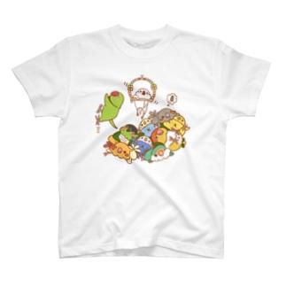 トリとるブランコ T-shirts