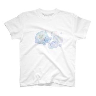 シャボン玉ミズクラゲ T-shirts