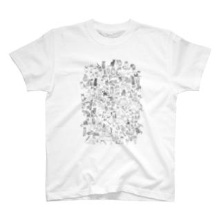 ねこぎゅっと T-shirts