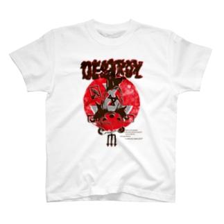 DESTROY T-shirts