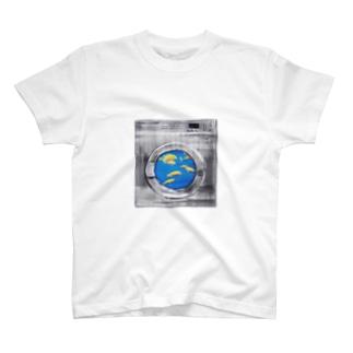 コインランドリーA T-shirts