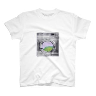 コインランドリーB T-shirts