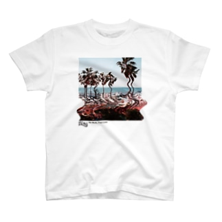 HALF MILE BEACH CLUBのBe Built, Then Lost - WHITE T-shirts