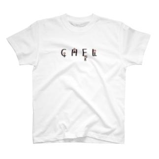 CHELくんオールスター(黒字) T-shirts