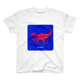恐竜界のおつぼねさんイグアノドン T-shirts