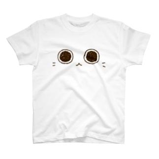 ちょこさん。お目々、どーん。 T-shirts