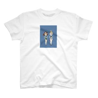 夏の水着の女の子その3 T-shirts